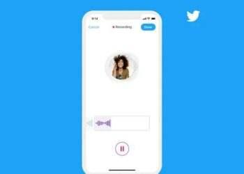 Twitter şimdi sesli DM'leri test ediyor