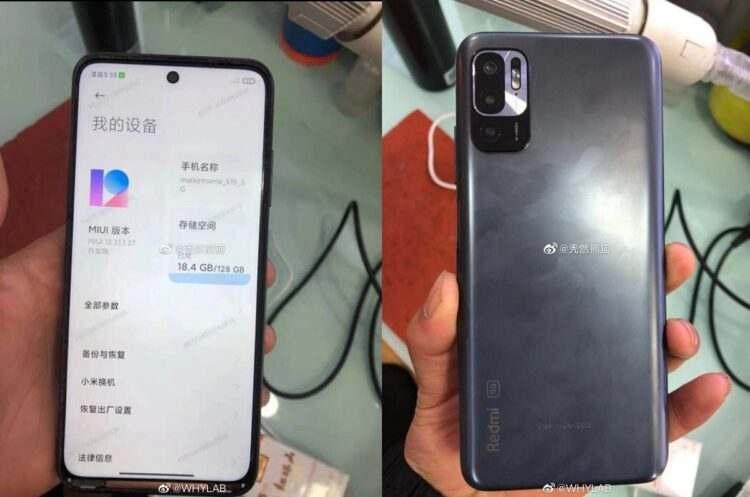 Xiaomi Redmi Note 10'un ilk gerçek görüntüleri sızdı