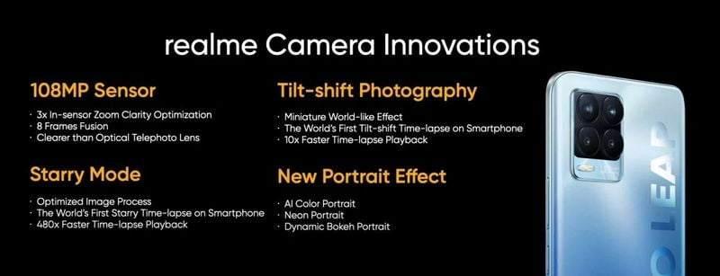 Realme 8 Pro; markanın 108MP kameralı ilk akıllı telefonu