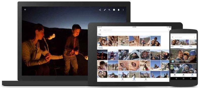 Google Fotoğraflar, web sürümüne yeni seçenekler ekledi