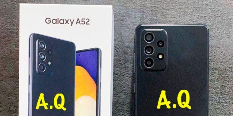 Samsung Galaxy A52 gerçek fotoğraflarda görünüyor