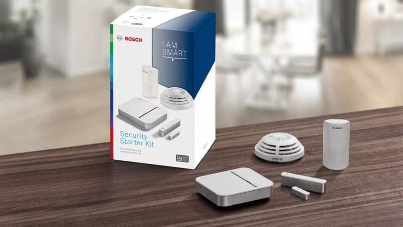 Bosch, HomeKit uyumlu akıllı ev aksesuarları sunacak