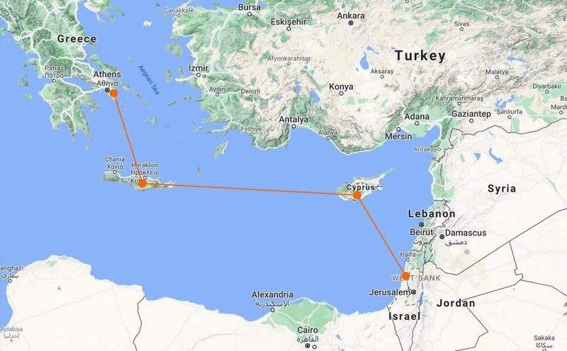 Dünyanın en uzun deniz altı elektrik kablosu İsrail, Kıbrıs ve Yunanistan'ı birbirine bağlayacak