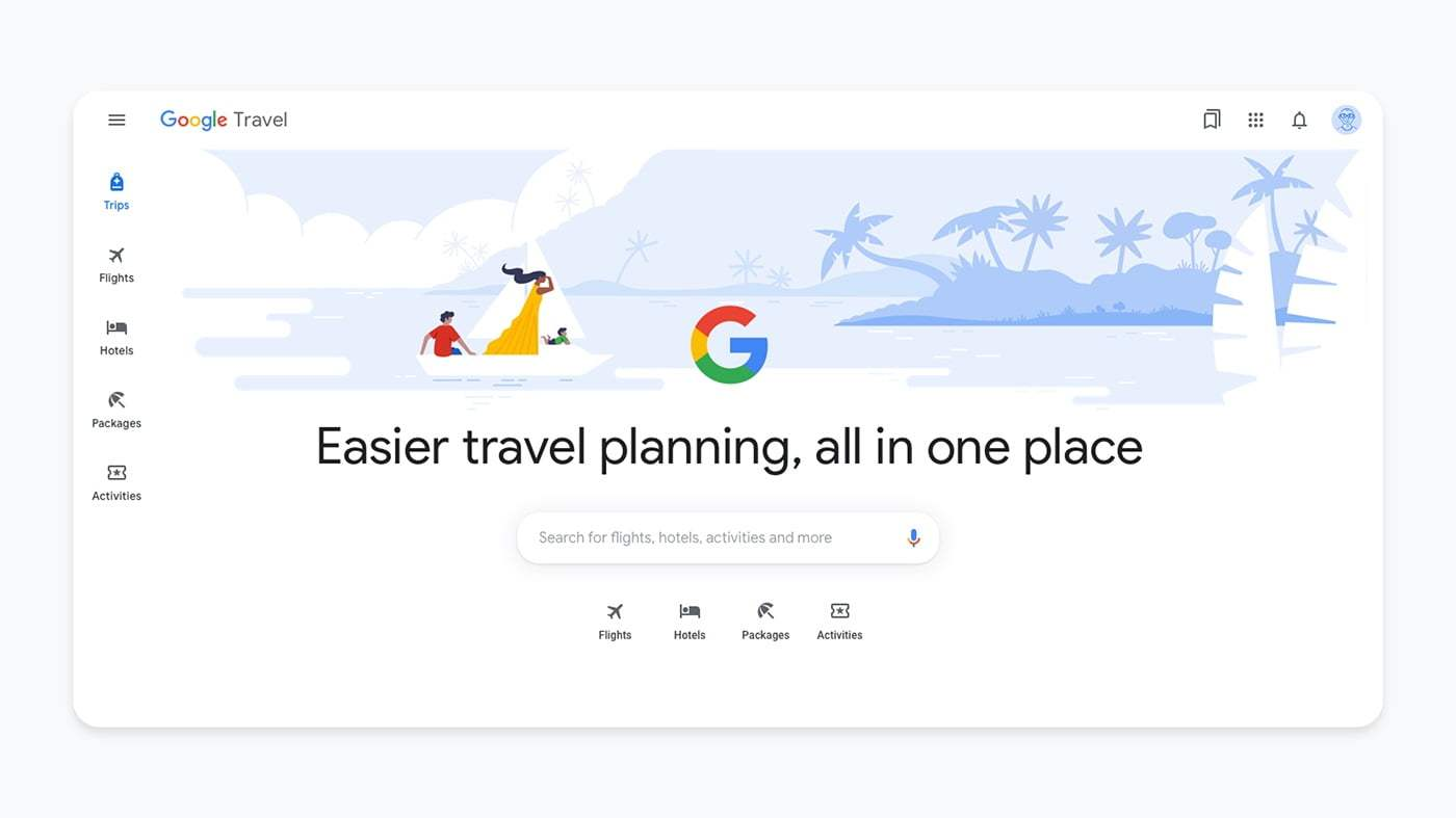 Google Travel, otel arama listelerini ücretsiz olarak gösterecek
