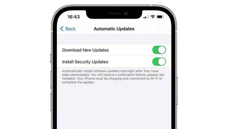 14.5 dördüncü beta sürümüne göre iOS güvenlik güncellemeleri sistem güncellemelerinden ayrı olacak