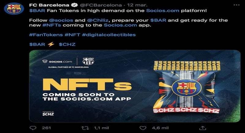 NFT, yeni yatırım trendi sporda güçlü bir şekilde geliyor