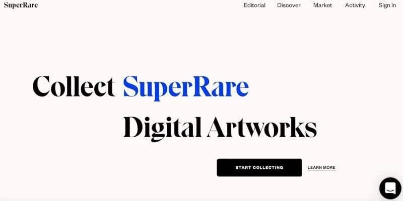 Bu 5 site, NFT kullanarak dijital ürünler satın almanıza olanak tanır