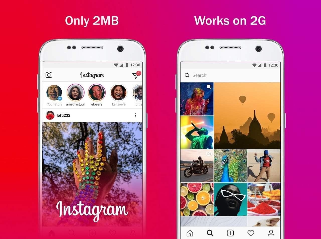 Instagram vs Instagram Lite: Farklar nelerdir?