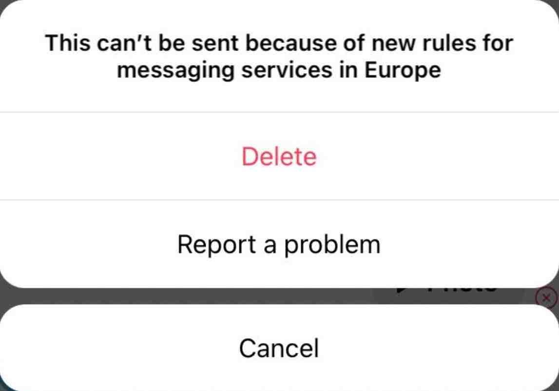 Instagram, düzenlemeler nedeniyle Avrupa'da kaybolan fotoğraf ve videoları kaldırıyor