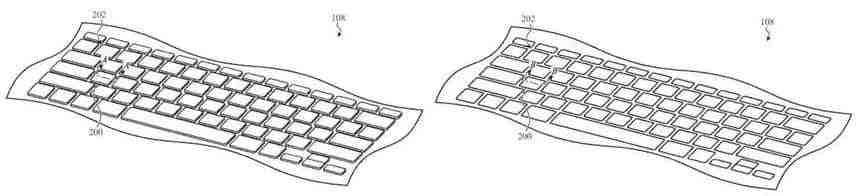 Apple, MacBook'ları daha ince yapmak için geri çekilebilir bir klavye tasarladı