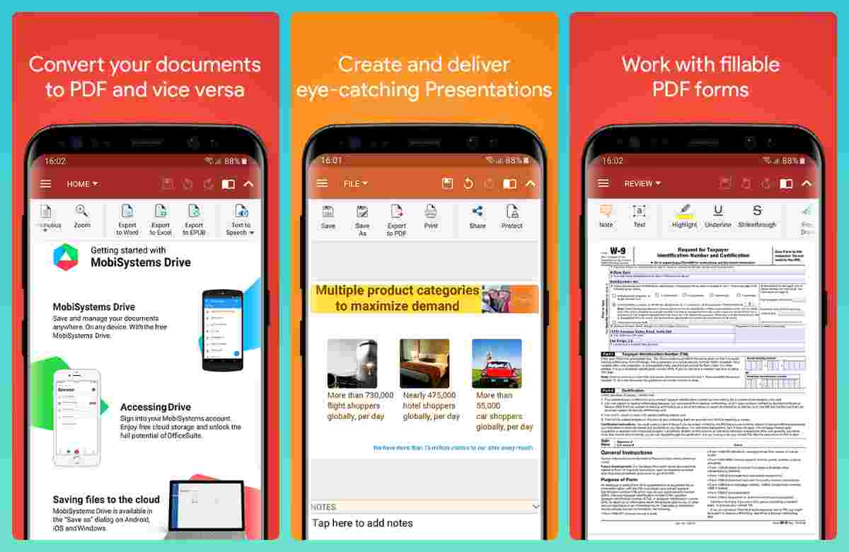 Android için Microsoft Word'e en iyi ofis uygulaması alternatifleri