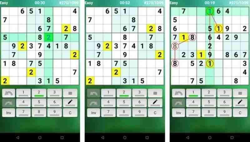 Android için en iyi 8 Sudoku oyunu