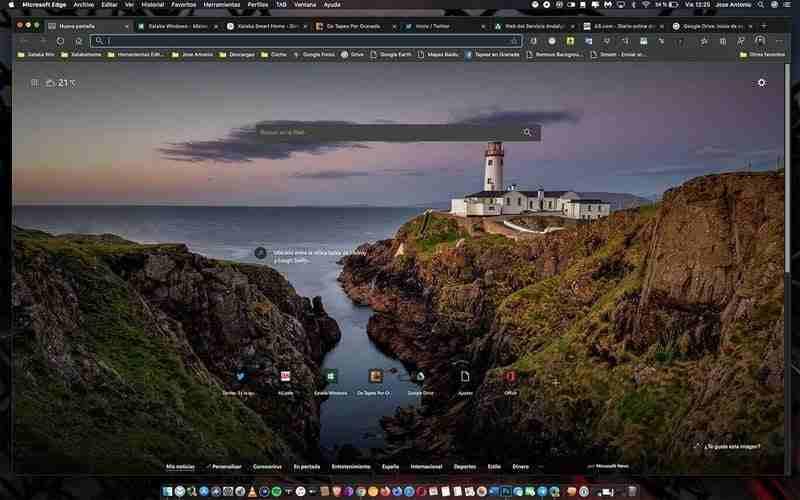 Microsoft Edge dikey sekmeleri yeniden boyutlandırılabilir ve ekran alanını daha iyi kullanır