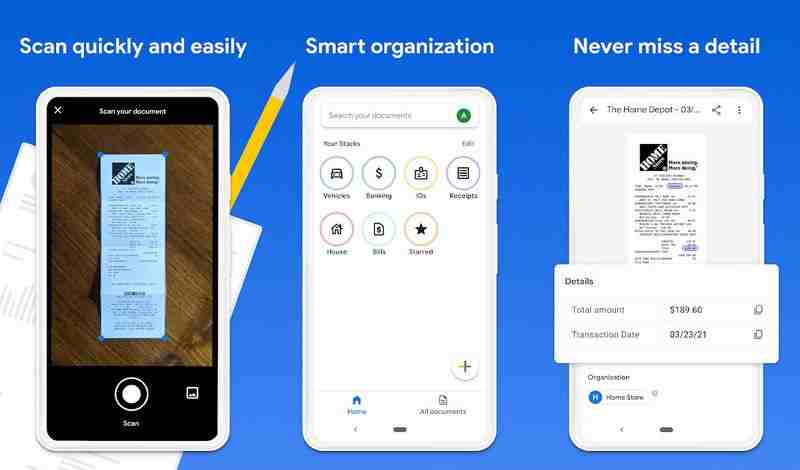 Google, akıllı bir belge tarama ve düzenleme uygulaması olan Stack'i piyasaya sürdü