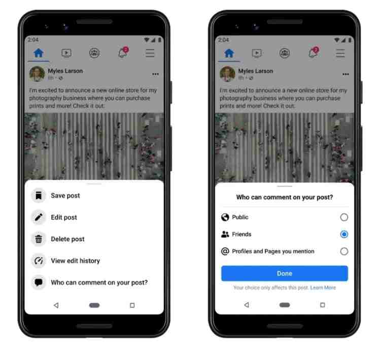 Facebook haber akışını güncelliyor ve kullanıcılara içerik üzerinde daha fazla kontrol sağlıyor