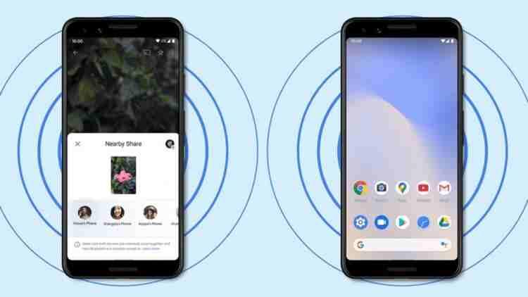 Android'de Nearby Sharing ile bağlantı ve fotoğraf paylaşma nasıl yapılır?