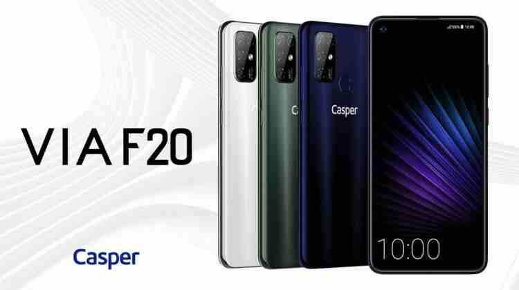 Casper'ın ilk yerli telefonu VIA F20 piyasada