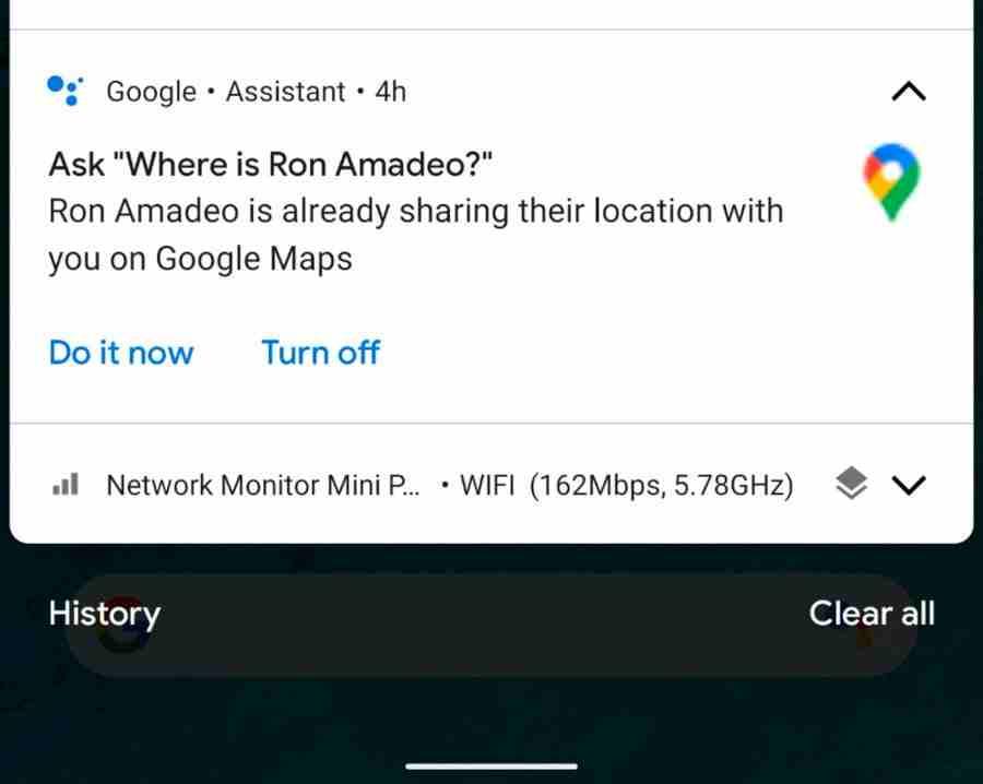 Google Asistan, kişilerinizin konumunu Google Haritalar'da gösterebilir