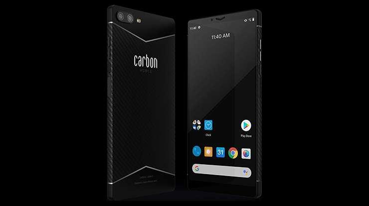 İlk karbon fiber akıllı telefon Carbon 1 MK II ile tanışın: özellikleri, fiyat ve çıkış tarihi