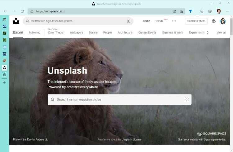 Microsoft Edge dikey sekmeleri yeniden boyutlandırılabilecek