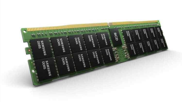 Devrim yaratabilir: Samsung, 512 GB DDR5 RAM'i tanıttı