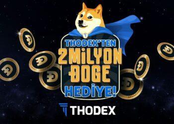 THODEX'ten yeni üyelere 2.000.000 Dogecoin hediye