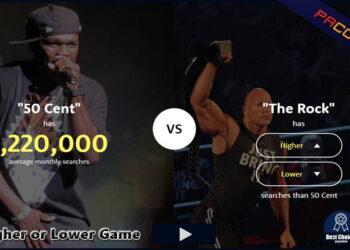 The Higher Lower Game ile Tanışın: YouTuber'lar arasında trend olan oyun