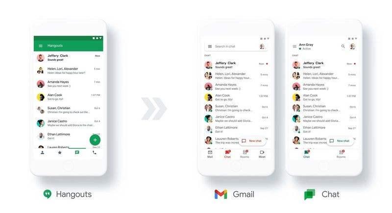 Hangouts'un yerini alacak yeni Google Sohbet artık PC'de ücretsiz olarak kullanılabilir