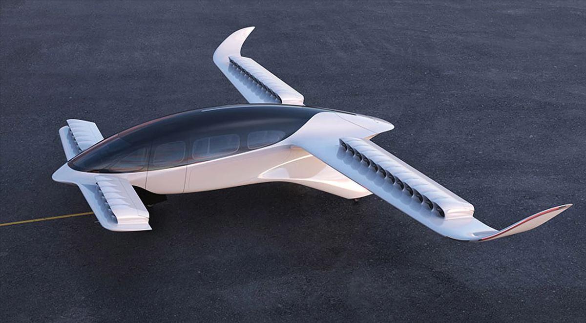 Lilium, Uçan Taksi projesinin yeni bir tasarımını gösteriyor
