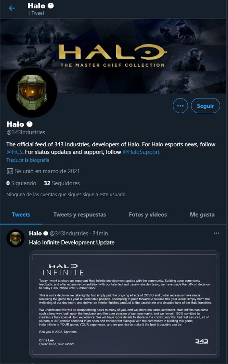 Halo Infinite 2022'ye ertelenmedi ve her şey bu yıl piyasaya çıkacağını gösteriyor