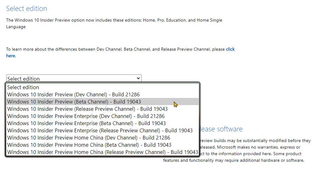 Windows 10 21H1 ISO'yu herkesten önce nasıl indirebilirim?