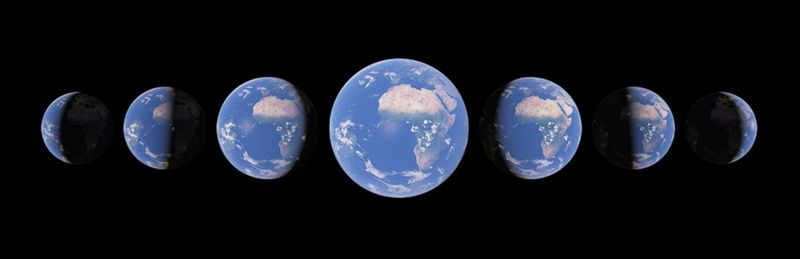 Google Earth, Timelapse'ı ekliyor: Gezegenin yaklaşık 40 yılda nasıl değiştiğini görmek için bir özellik