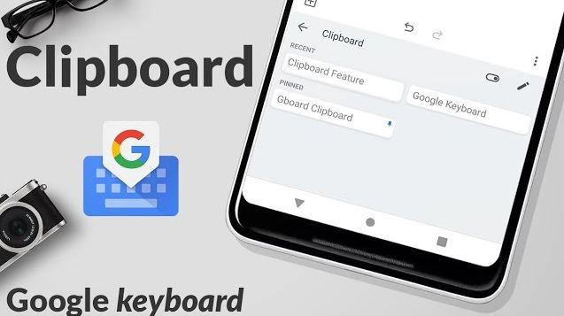 Google Gboard akıllı bir panoyu tanıtıyor