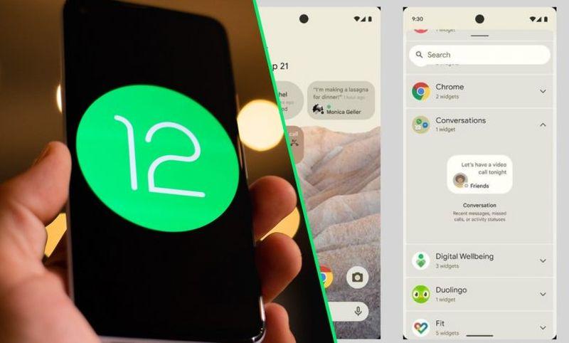 Android 12 konuşma widget'ı burada: İşleyiş şekli şöyledir