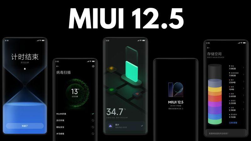 MIUI 12.5, 6 Xiaomi telefonuna daha gönderilmeye başladı