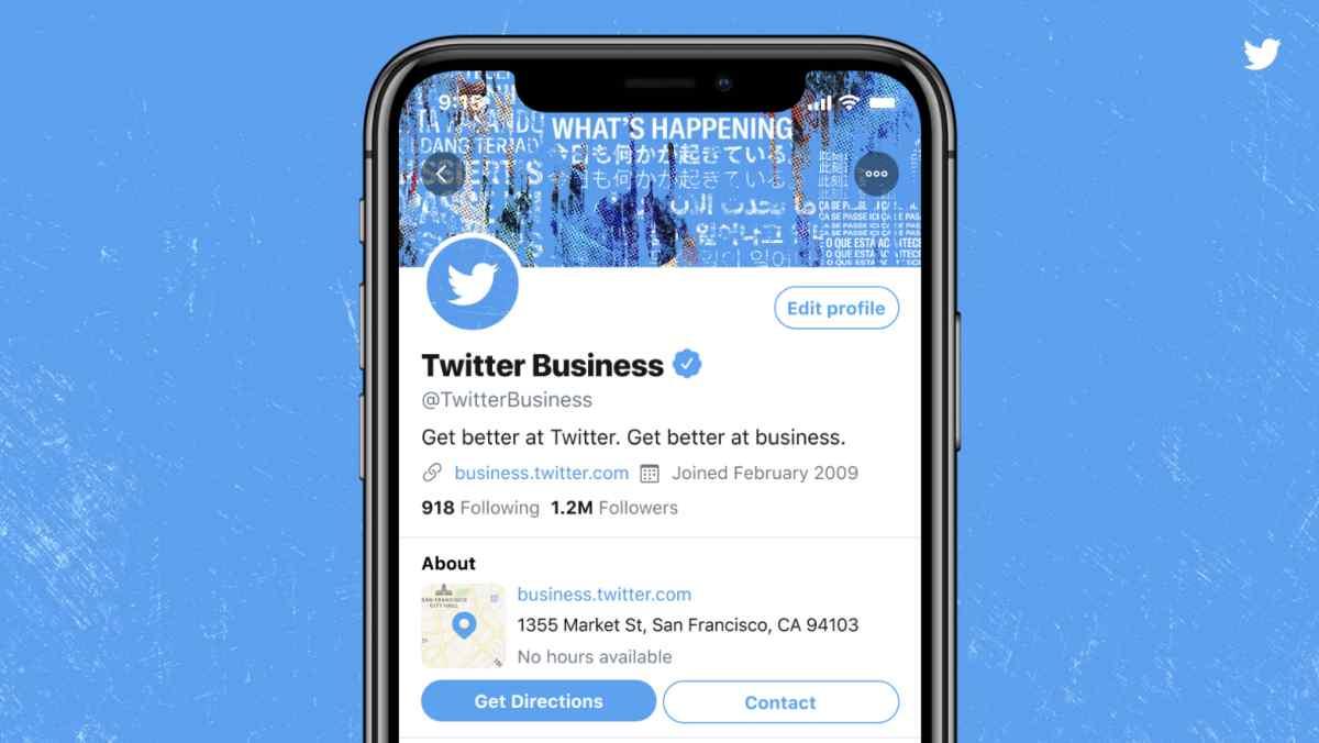 Twitter, işletmeler için Profesyonel Profilleri test ediyor