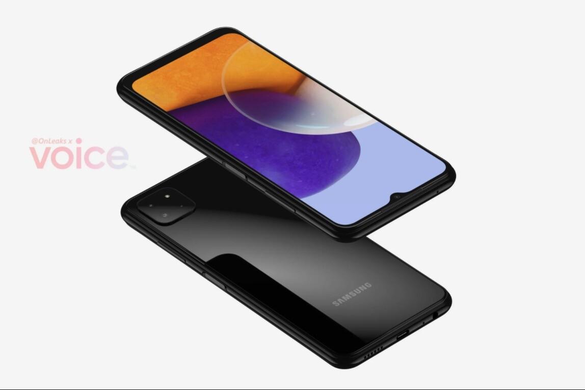 Samsung Galaxy A22 5G'nin görüntüleri sızdırıldı