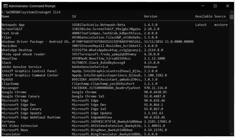 Microsoft, Windows Paket Yöneticisi'nin yeni bir sürümünü yayınladı