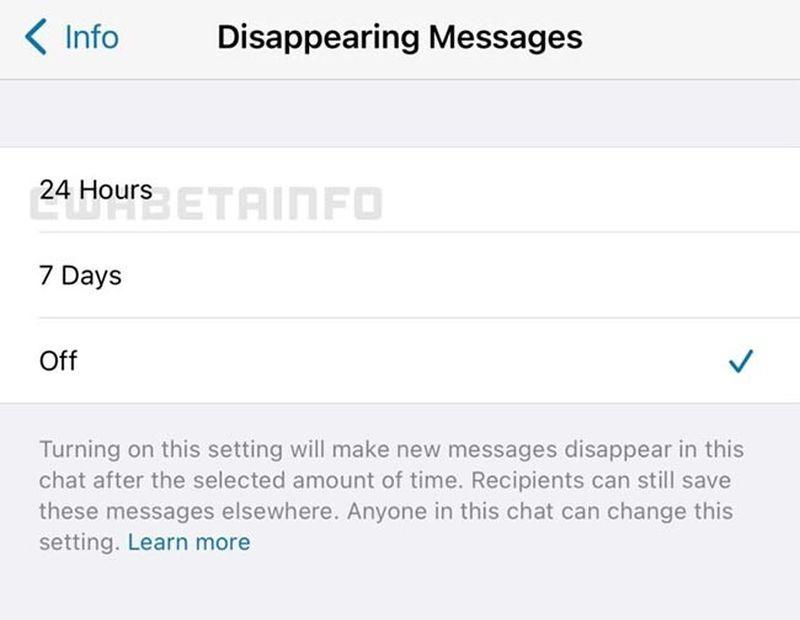 WhatsApp, kaybolan mesajları seçmenize izin verir: Ertesi gün veya sonraki hafta
