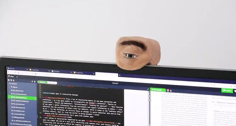 İnsan gözüne benzer şekilde geliştirilen web kamerası: The Eyecam