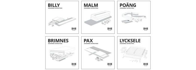 IKEA, sürdürülebilirlik hedefi doğrultusunda 'sökme' kılavuzları yayınladı