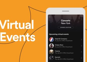 Spotify, sanatçıların sanal etkinliklerinin takibini kolaylaştıracak