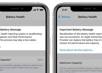 iOS 14.5, pil sağlığı kalibrasyon sistemi sunacak