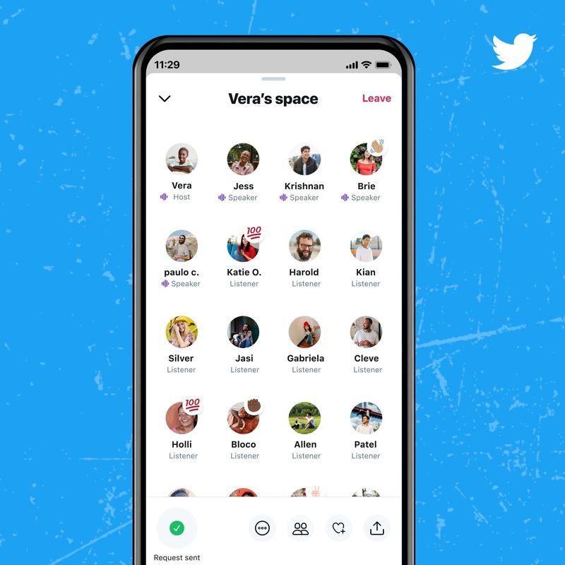 600'den fazla takipçisi olanlar için Twitter Alanları artık mevcut