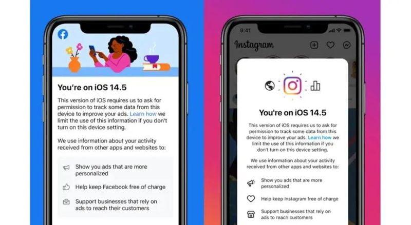 Facebook, kullanıcıları ücretsiz tutmak için iOS 14.5'te izlemeyi etkinleştirmeye davet ediyor