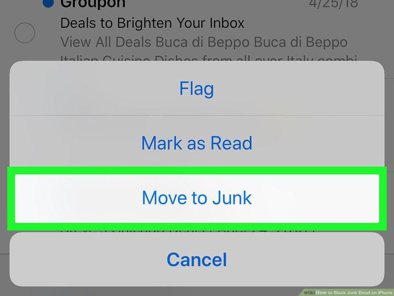 iPhone veya iPad'de e-postaları istenmeyen posta olarak işaretleme