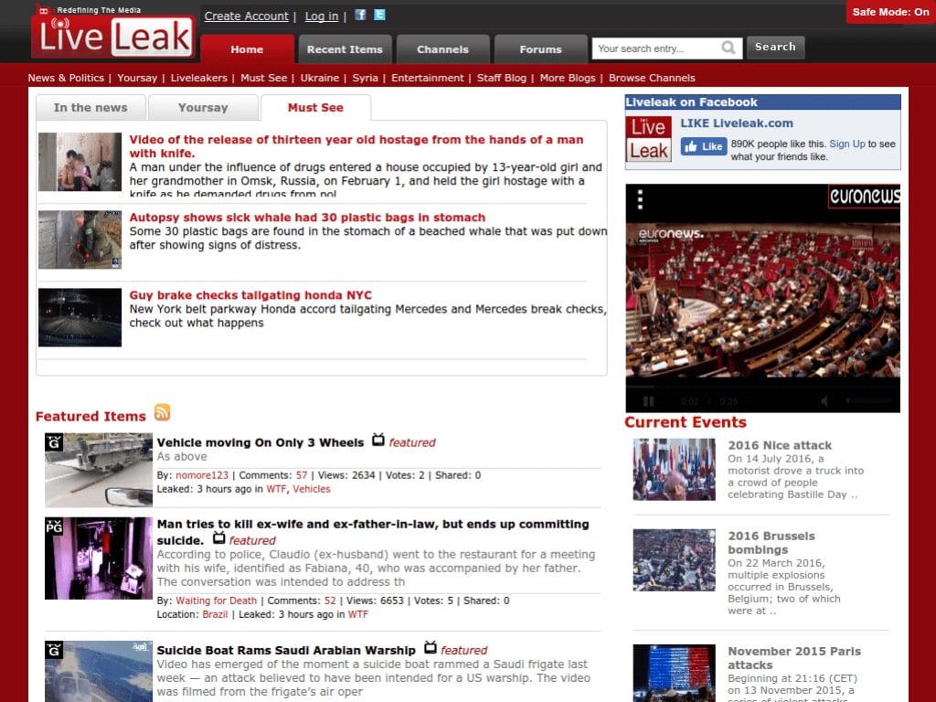 LiveLeak 15 yıl sonra kapandı