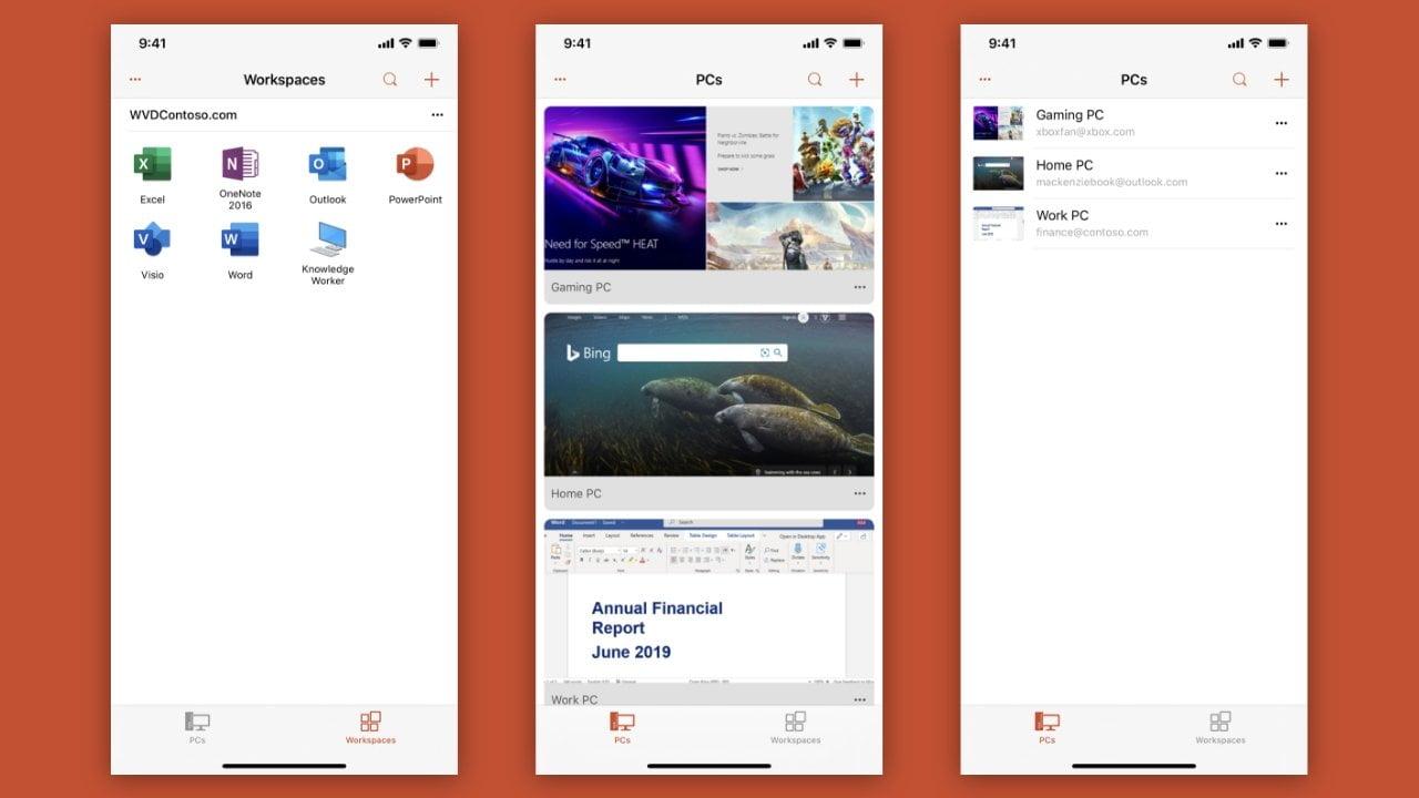 Microsoft Uzak Masaüstü'nü Windows 10, iOS, macOS ve Android'de kullanma