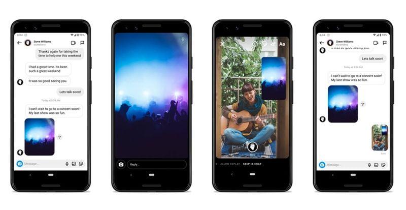 Instagram ve Messenger yeni temalar ve daha fazla sohbet özelliği ekler