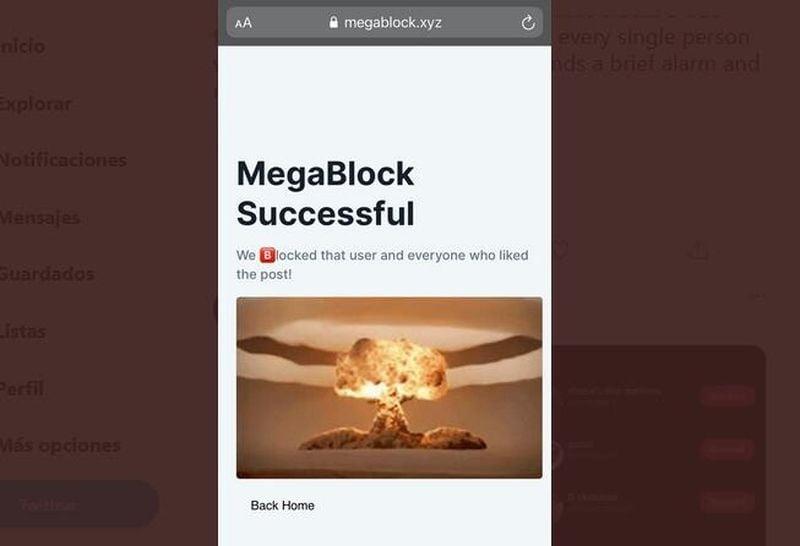 MegaBlock: Beğenmediğiniz bir tweet'i beğenen herkesi Twitter'da aniden engelleyin